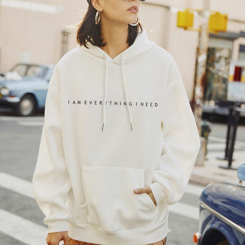 New fashion autumn women's hooded casual plus size sweater NHSN264197