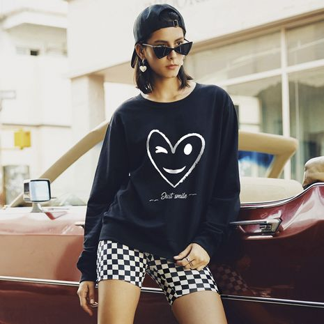 new autumn women's round neck long sleeve casual sweater NHSN264291's discount tags