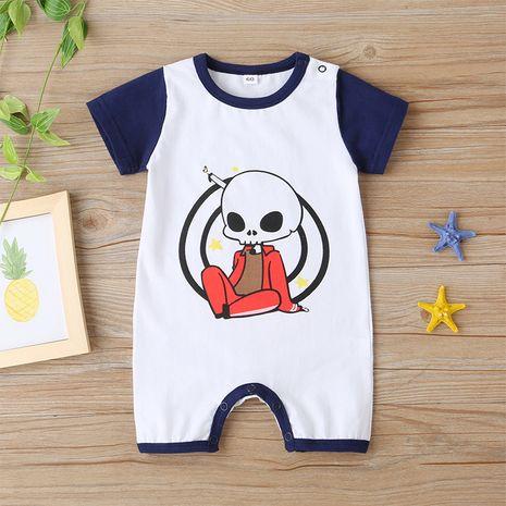 Summer baby short-sleeved onesies new cartoon letters short romper  NHLF264393's discount tags