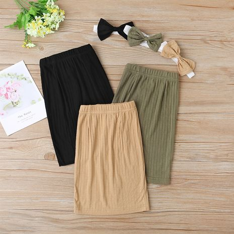 Three-color children's summer fashion all-match hip skirt  NHLF264396's discount tags