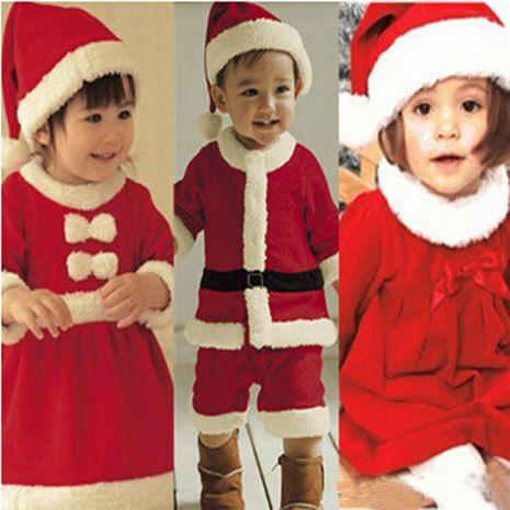 children's clothing wholesale winter Christmas polar fleece jumpsuit NHLF264402's discount tags