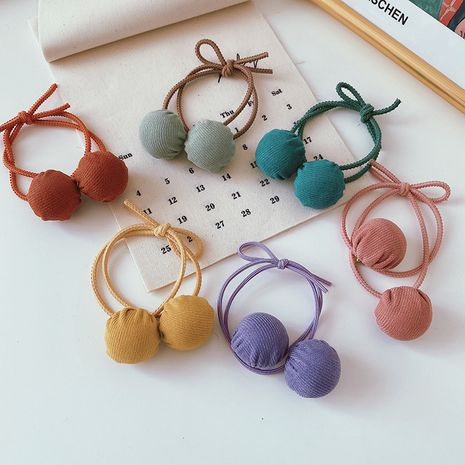 Korean women's new all-match ball hair rope hot-saling wholesale NHCQ264637's discount tags