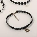 collier court simple noir pour enfant NHNU264658