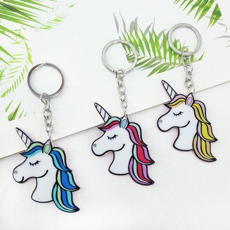 Mode licorne pendentif acrylique sac voiture porte-clés en gros NHAP253361's discount tags