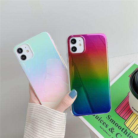 Cubierta protectora de color degradado de estilo coreano para la caja del teléfono móvil Apple 11Pro Max iphone7 8plus XR se2 NHFI253377's discount tags