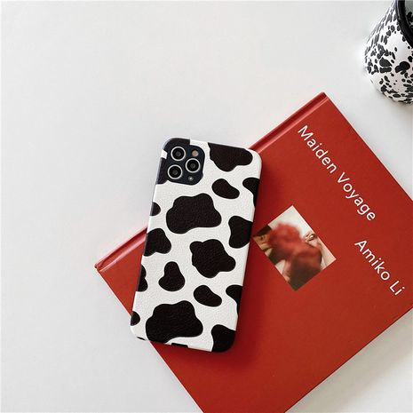 Coque de téléphone portable à motif de vache pour iPhone11pro Max coque souple en soie Apple SE2 en relief Huawei P40Pro NHFI253413's discount tags