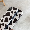 Cow pattern mobile phone case for iPhone11pro Max silk embossed Apple se2 soft shell Huawei P40Pro NHFI253413