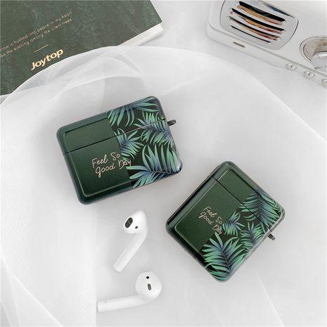 Carcasa protectora simple de hoja de plátano adecuada para auriculares inalámbricos Bluetooth Airpods pro Apple Airpods 1 2 generación NHFI253422's discount tags