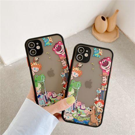Cas de téléphone portable Apple 11Pro Max de dessin animé mignon de Corée du Sud pour étui liquide iPhoneXS SE2 8plus NHFI253428's discount tags