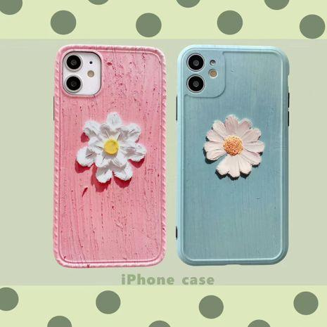 Art peinture à l'huile Daisy iPhone11 Promax étui de téléphone portable pour Apple 8 7plus silicone SE2 XR X NHFI253430's discount tags