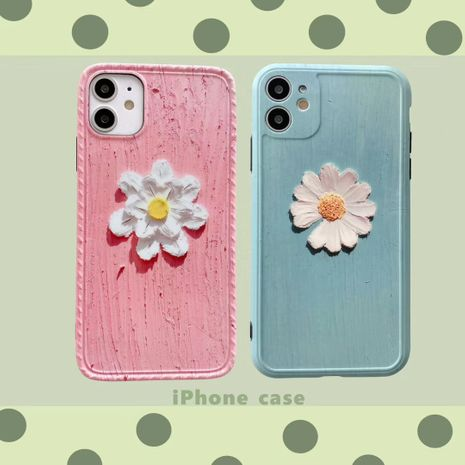 Arte pintura al óleo Daisy iPhone11 Promax funda para teléfono móvil para Apple 8 7plus silicona SE2 XR X NHFI253430's discount tags