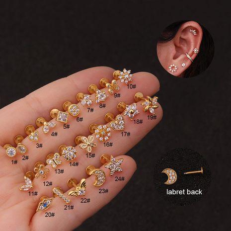 nouveaux clous à lèvres en zircon boucles d'oreilles fleur de mode NHEN253481's discount tags