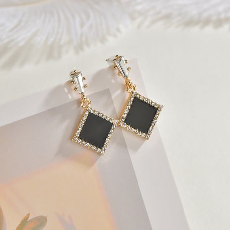 Boucles d'oreilles diamant rond zircon géométrique aiguille argent 925 NHBQ253526's discount tags