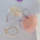Cristal perle corenne cheveux corde haute lastique lastique cheveux chouchous en gros NHSM253164