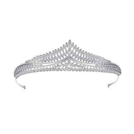 Fashion Korean Crown Bridal  Zircon headband  wholesale NHTM253218's discount tags