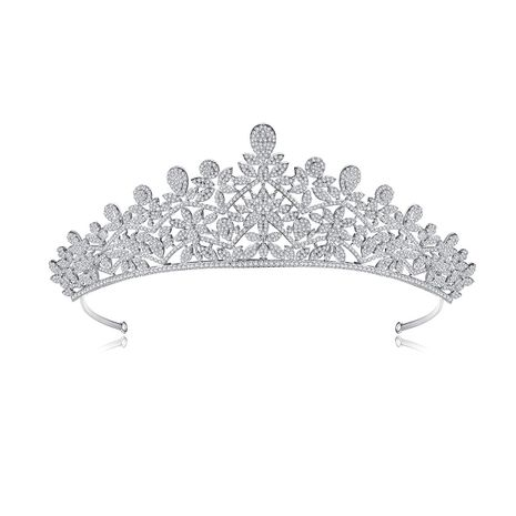 crown bridal banquet wedding headband  wholesale NHTM253219's discount tags