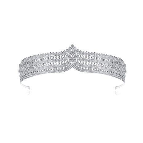 shallow crown fashion wedding bridal wedding headband  wholesale NHTM253220's discount tags