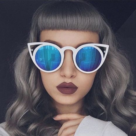 new trend cat eye colorful sunglasses for women hot-saling wholesale NHFY253274's discount tags