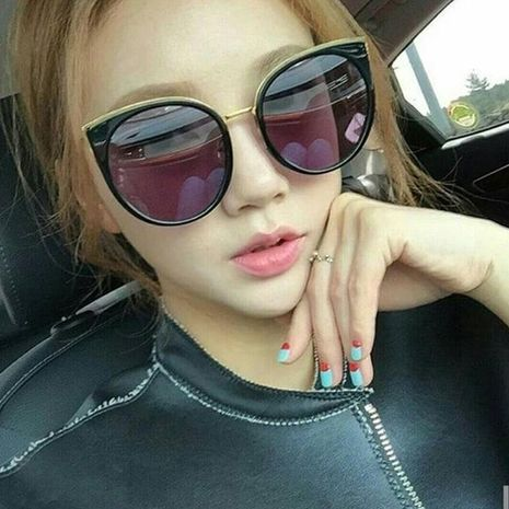 Fashion cat eye ear sunglasses unisex hot-saling wholesale NHFY253278's discount tags