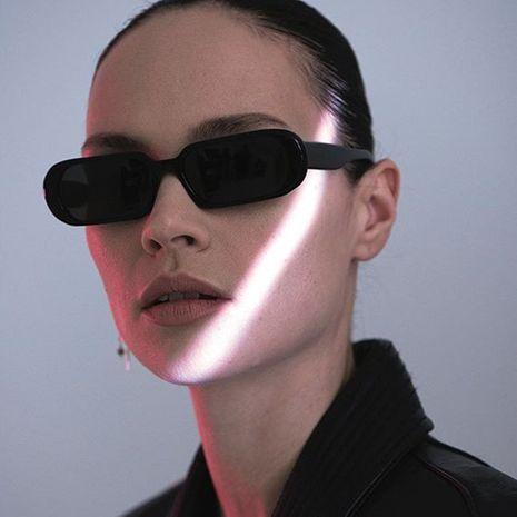 Gafas de sol de montura pequeña ovaladas para mujer gafas de sol retro al por mayor NHKD253303's discount tags