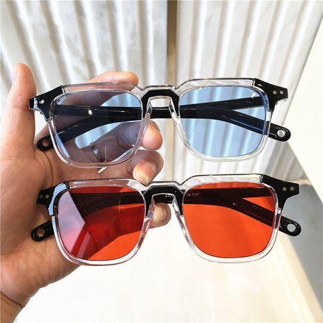 Nuevas gafas de sol cuadradas retro de moda para mujer al por mayor nihaojewelry NHKD253316's discount tags