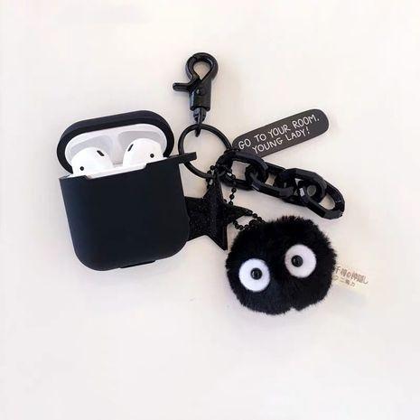 briquettes AirPods Pro housse de protection pour casque Apple Bluetooth housse en silicone anti-chute 1 2 génération générale NHFI253433's discount tags