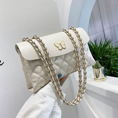 New trendy  fashion rhombus chain bag  wild small square bag NHLH253589's discount tags