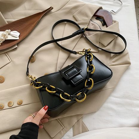 New Trendy Fashion Messenger Bags  All-match One Shoulder  Small Square Bag NHLH253579's discount tags