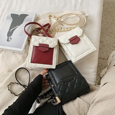 New trendy  fashion  color chain shoulder messenger bag   NHLH253601's discount tags