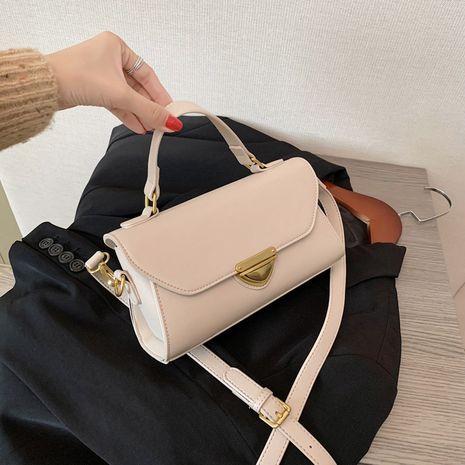 New trendy fashion simple portable messenger bag  popular texture shoulder bag NHLH253636's discount tags