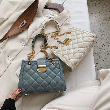 Ladies bag  trendy fashion all-match shoulder bag  portable   bag NHLH253665's discount tags