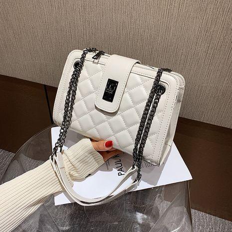 New trendy fashion texture messenger bag wild  shoulder bag NHLH253675's discount tags