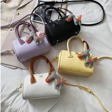 New trendy fashion portable messenger bag   texture single shoulder  bag NHLH253679's discount tags