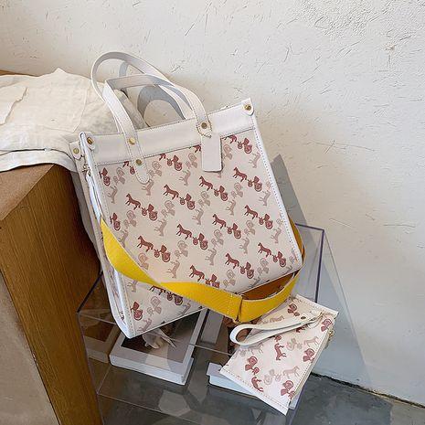 Retro new trendy fashion large-capacity broadband messenger  wild shoulder   bag NHLH253683's discount tags