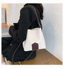 New trendy  oneshoulder messenger bag simple fashion allmatch chain bucket bag NHLH253688