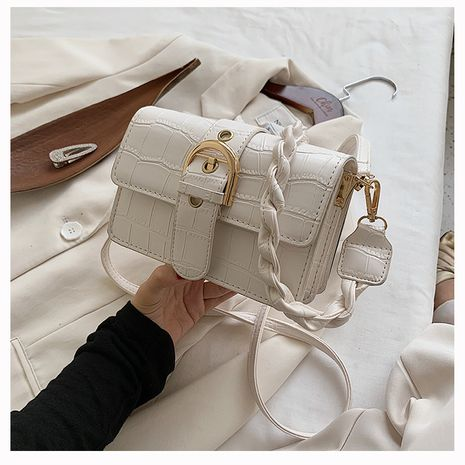 New trendy fashion   single shoulder bag  all-match messenger small square bag NHLH253692's discount tags