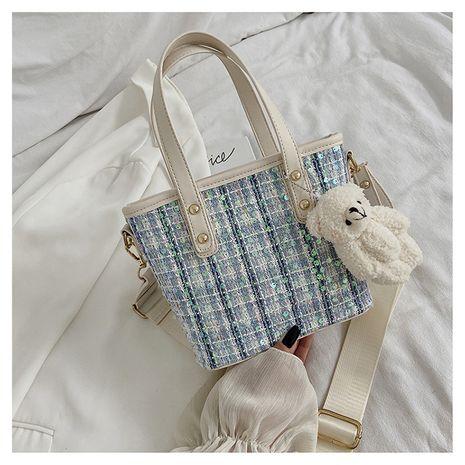 New trendy  fashion all-match chain woolen single shoulder messenger handbag NHLH253691's discount tags