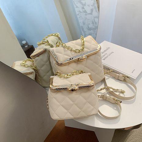 New trendy fashion texture shoulder bag  messenger bag NHLH253708's discount tags