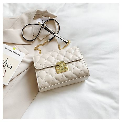 new trendy fashion embroidery thread crossbody small square chain shoulder bag NHLH253716's discount tags