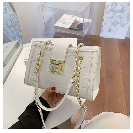 new trendy fashion messenger wild shoulder ladies chain bag NHLH253738's discount tags