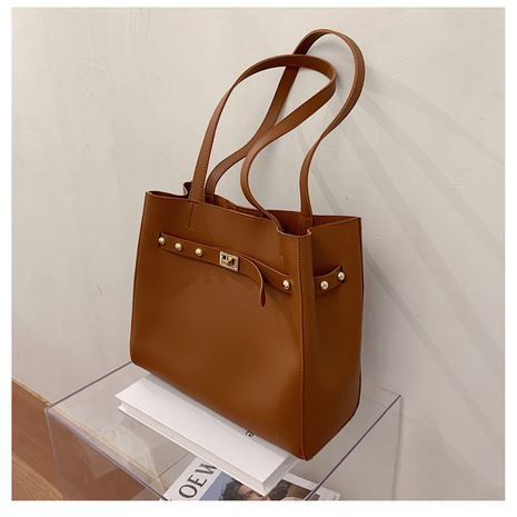 new summer large-capacity mother-and-match shoulder fashion casual tote shoulder bag NHLH253748's discount tags