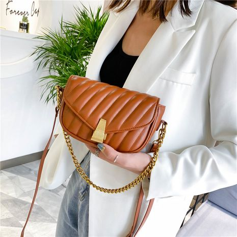 Summer small new trendy fashion wild one-shoulder messenger Korean small square women's bags NHLH253754's discount tags
