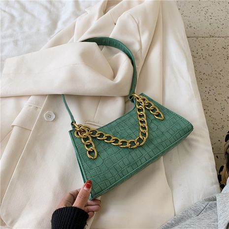 new trendy fashion one-shoulder chain ladies portable underarm bag NHLH253761's discount tags