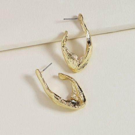 Pendientes de aleación clásicos simples de metal de nueva moda de verano para mujer NHGU253771's discount tags