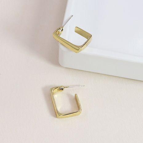 mode de nouvelles boucles d'oreilles en alliage de vente à chaud en métal simple géométrique NHGU253775's discount tags