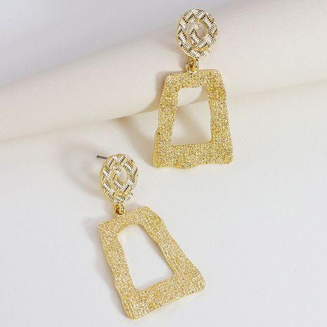 nouvelles boucles d'oreilles en alliage simples tout-assorties géométriques en métal NHGU253778's discount tags