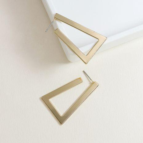 Moda verano nuevo par de pendientes geométricos clásicos de gran venta de metal NHGU253787's discount tags