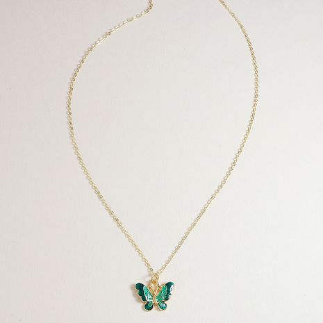 Fashion cute butterfly new  alloy necklace hot-saling wholesale NHGU253799's discount tags