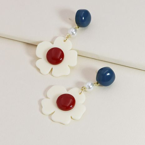 New acrylic flower earrings hot-selling  NHGU253837's discount tags