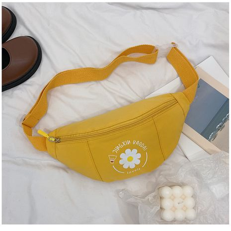 Fashion small daisy chest bag wild sports wind messenger waist bag NHTC253902's discount tags